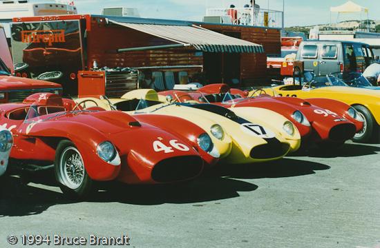 Ferrari Race Cars